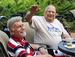 Residents enjoy a full array of lifestyles activities and recreational therapy