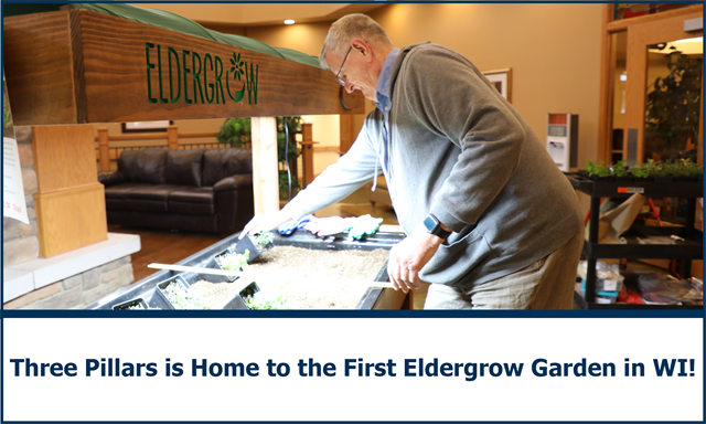 Three Pillars is Home to the First Mobile Culinary Herb Garden in the State of Wisconsin - Eldergrow Partnership