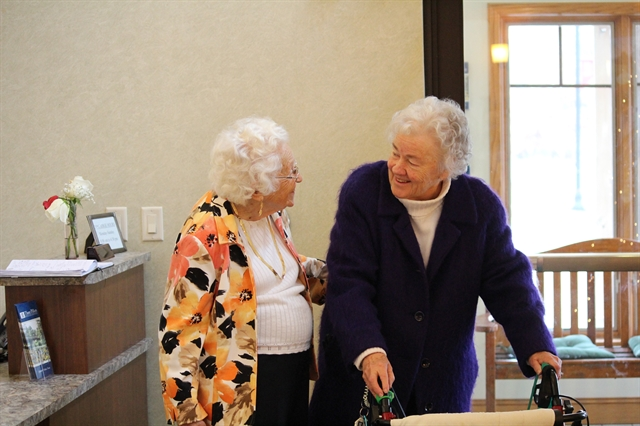 Friends at Assisted Living Community