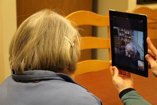 skype, older adults, social, interaction, video call
