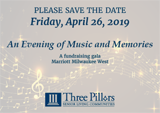 Three Pillars' 2019 Annual Gala - An Evening of Music and Memories