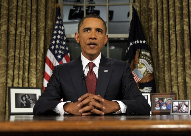 President Barack Obama declared end of combat in Iraq