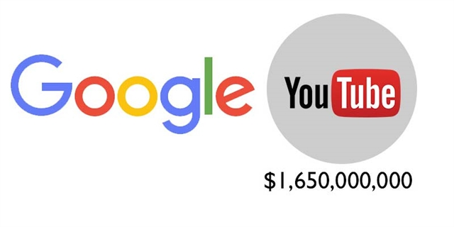 Google purchased YouTube in 2006